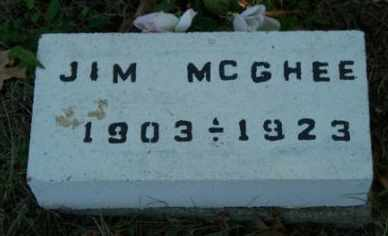 "MCGHEE, JAMES A ""JIM"" - Craig County, Oklahoma 