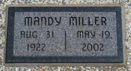 ROGERS MILLER, MANDY - Craig County, Oklahoma | MANDY ROGERS MILLER - Oklahoma Gravestone Photos