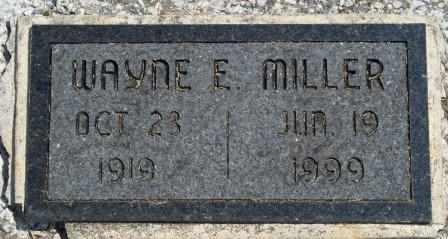MILLER, WAYNE E - Craig County, Oklahoma | WAYNE E MILLER - Oklahoma Gravestone Photos