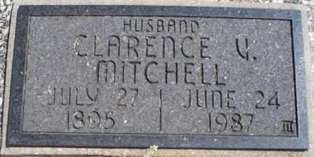MITCHELL, CLARENCE VIEGIL - Craig County, Oklahoma   CLARENCE VIEGIL MITCHELL - Oklahoma Gravestone Photos