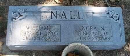 NALL  (VETERAN WWII), WILLIAM E - Craig County, Oklahoma | WILLIAM E NALL  (VETERAN WWII) - Oklahoma Gravestone Photos