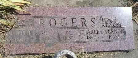ROGERS, CHARLES VERNON - Craig County, Oklahoma | CHARLES VERNON ROGERS - Oklahoma Gravestone Photos