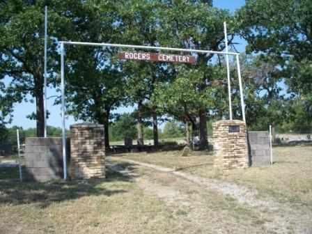 *ROGERS CEMETERY, ENTRANCE - Craig County, Oklahoma | ENTRANCE *ROGERS CEMETERY - Oklahoma Gravestone Photos