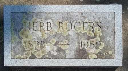 ROGERS, HERB - Craig County, Oklahoma | HERB ROGERS - Oklahoma Gravestone Photos