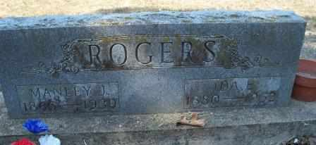 ROGERS, MANLEY J - Craig County, Oklahoma | MANLEY J ROGERS - Oklahoma Gravestone Photos
