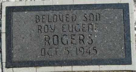 ROGERS, ROY EUGENE - Craig County, Oklahoma | ROY EUGENE ROGERS - Oklahoma Gravestone Photos