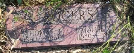 ROGERS, THOMAS J - Craig County, Oklahoma | THOMAS J ROGERS - Oklahoma Gravestone Photos