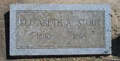 STOUT STOUT, ELIZABETH A - Craig County, Oklahoma | ELIZABETH A STOUT STOUT - Oklahoma Gravestone Photos