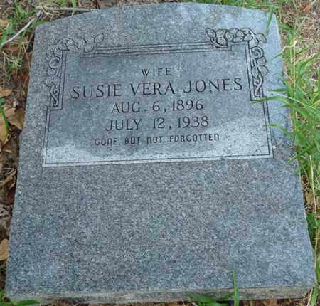 JONES, SUSIE VERA - Creek County, Oklahoma | SUSIE VERA JONES - Oklahoma Gravestone Photos