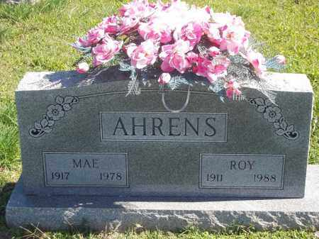 AHRENS, MAE - Delaware County, Oklahoma | MAE AHRENS - Oklahoma Gravestone Photos