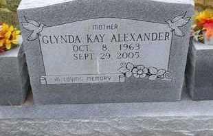 ALEXANDER, GLYNDA KAY - Delaware County, Oklahoma | GLYNDA KAY ALEXANDER - Oklahoma Gravestone Photos