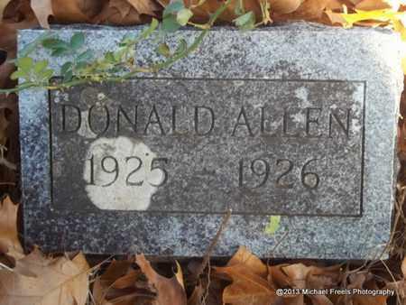 ALLEN, DONALD - Delaware County, Oklahoma | DONALD ALLEN - Oklahoma Gravestone Photos