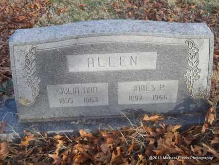 ALLEN, JULIA ANN - Delaware County, Oklahoma | JULIA ANN ALLEN - Oklahoma Gravestone Photos