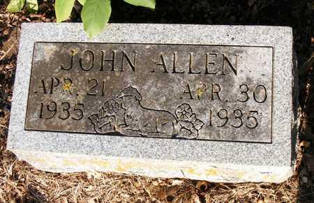 ALLEN, JOHN - Delaware County, Oklahoma | JOHN ALLEN - Oklahoma Gravestone Photos