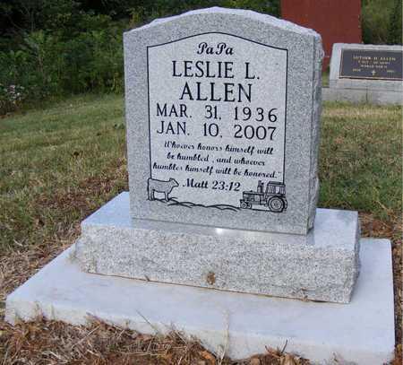 ALLEN, LESLIE L. - Delaware County, Oklahoma | LESLIE L. ALLEN - Oklahoma Gravestone Photos