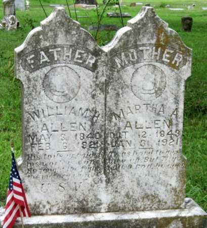 ALLEN, MARTHA A - Delaware County, Oklahoma | MARTHA A ALLEN - Oklahoma Gravestone Photos