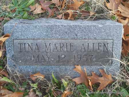 ALLEN, TINA MARIE - Delaware County, Oklahoma | TINA MARIE ALLEN - Oklahoma Gravestone Photos