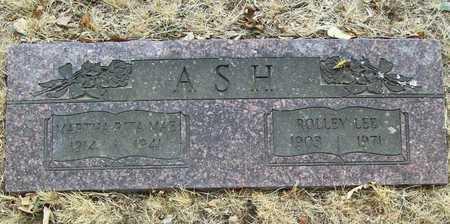 ASH, ROLLEY LEE - Delaware County, Oklahoma | ROLLEY LEE ASH - Oklahoma Gravestone Photos