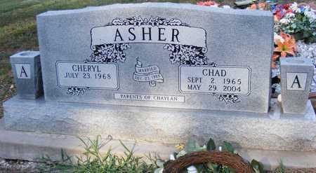 ASHER, CHAD - Delaware County, Oklahoma | CHAD ASHER - Oklahoma Gravestone Photos