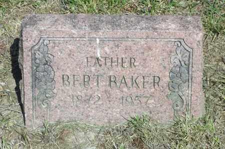 BAKER, BERT - Delaware County, Oklahoma | BERT BAKER - Oklahoma Gravestone Photos