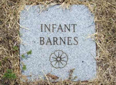 BARNES, INFANT - Delaware County, Oklahoma | INFANT BARNES - Oklahoma Gravestone Photos