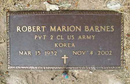 BARNES (VETERAN KOR), ROBERT MARION - Delaware County, Oklahoma | ROBERT MARION BARNES (VETERAN KOR) - Oklahoma Gravestone Photos