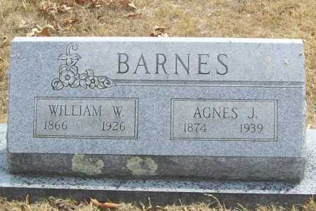 BARNES, WILLIAM W. - Delaware County, Oklahoma | WILLIAM W. BARNES - Oklahoma Gravestone Photos