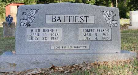 HUCKLEBY BATTIEST, RUTH BERNICE - Delaware County, Oklahoma | RUTH BERNICE HUCKLEBY BATTIEST - Oklahoma Gravestone Photos