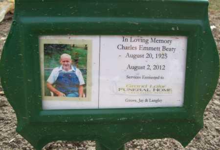 BEATY, CHARLES EMMETT - Delaware County, Oklahoma | CHARLES EMMETT BEATY - Oklahoma Gravestone Photos