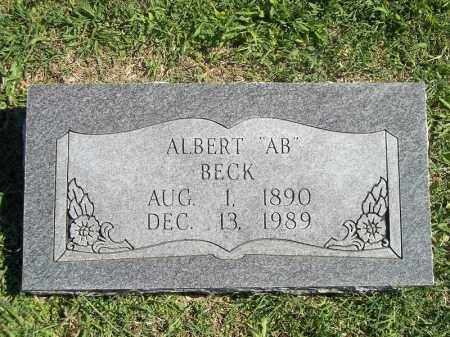 BECK, ALBERT - Delaware County, Oklahoma | ALBERT BECK - Oklahoma Gravestone Photos