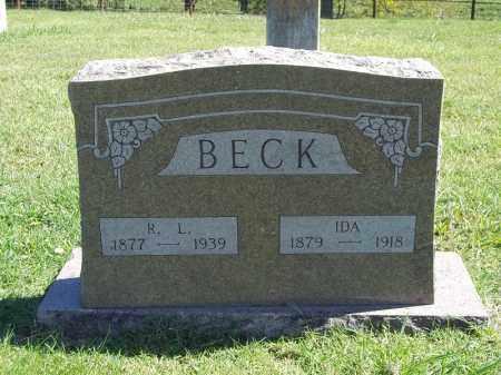 BECK, R L - Delaware County, Oklahoma | R L BECK - Oklahoma Gravestone Photos