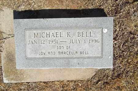 BELL, MICHAEL K - Delaware County, Oklahoma | MICHAEL K BELL - Oklahoma Gravestone Photos