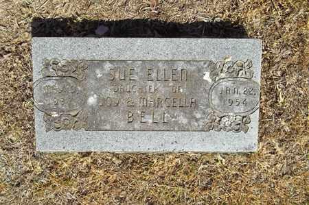BELL, SUE ELLEN - Delaware County, Oklahoma | SUE ELLEN BELL - Oklahoma Gravestone Photos