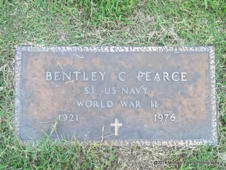 PEARCE (VETERAN WWII), BENTLEY C. - Delaware County, Oklahoma | BENTLEY C. PEARCE (VETERAN WWII) - Oklahoma Gravestone Photos