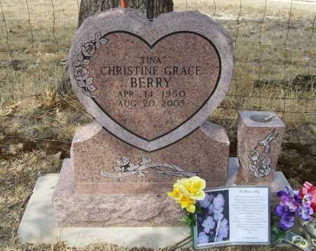 "BERRY, CHRISTINE GRACE ""TINA"" - Delaware County, Oklahoma 