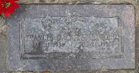 "BIRDSONG, FRANCES ""JACKIE"" - Delaware County, Oklahoma | FRANCES ""JACKIE"" BIRDSONG - Oklahoma Gravestone Photos"