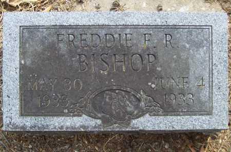 BISHOP, FREDDIE F.R. - Delaware County, Oklahoma   FREDDIE F.R. BISHOP - Oklahoma Gravestone Photos