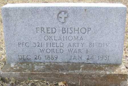BISHOP (VETERAN WWI), FRED - Delaware County, Oklahoma | FRED BISHOP (VETERAN WWI) - Oklahoma Gravestone Photos