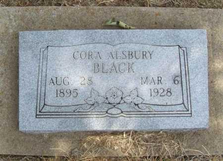 ALSBURY BLACK, CORA - Delaware County, Oklahoma | CORA ALSBURY BLACK - Oklahoma Gravestone Photos