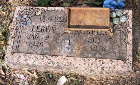 BLACKFOX, LEROY - Delaware County, Oklahoma | LEROY BLACKFOX - Oklahoma Gravestone Photos