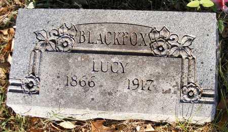BLACKFOX, LUCY - Delaware County, Oklahoma | LUCY BLACKFOX - Oklahoma Gravestone Photos