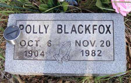 BLACKFOX, POLLY - Delaware County, Oklahoma | POLLY BLACKFOX - Oklahoma Gravestone Photos