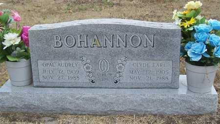 BOHANNON, CLYDE EARL - Delaware County, Oklahoma | CLYDE EARL BOHANNON - Oklahoma Gravestone Photos
