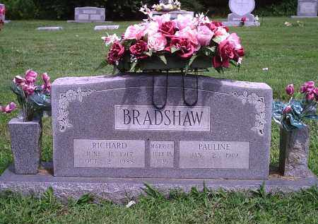 BRADSHAW, RICHARD - Delaware County, Oklahoma | RICHARD BRADSHAW - Oklahoma Gravestone Photos
