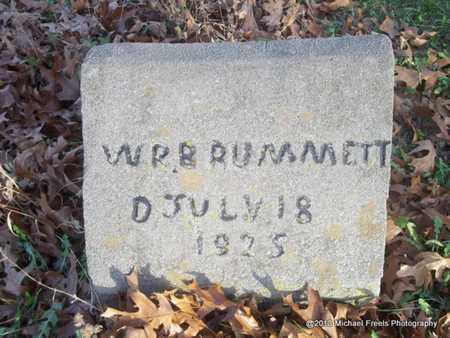 BRUMMETT, W.R. - Delaware County, Oklahoma | W.R. BRUMMETT - Oklahoma Gravestone Photos