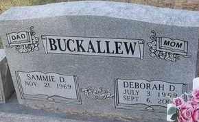 BUCKALLEW, DEBORAH D - Delaware County, Oklahoma   DEBORAH D BUCKALLEW - Oklahoma Gravestone Photos