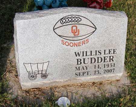 BUDDER, WILLIS LEE - Delaware County, Oklahoma | WILLIS LEE BUDDER - Oklahoma Gravestone Photos