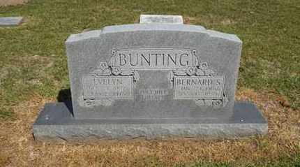 BUNTING, EVELYN - Delaware County, Oklahoma | EVELYN BUNTING - Oklahoma Gravestone Photos