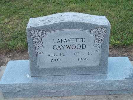 CAYWOOD, LAFAYETTE - Delaware County, Oklahoma   LAFAYETTE CAYWOOD - Oklahoma Gravestone Photos