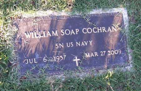 COCHRAN  (VETERAN), WILLIAM SOAP - Delaware County, Oklahoma | WILLIAM SOAP COCHRAN  (VETERAN) - Oklahoma Gravestone Photos